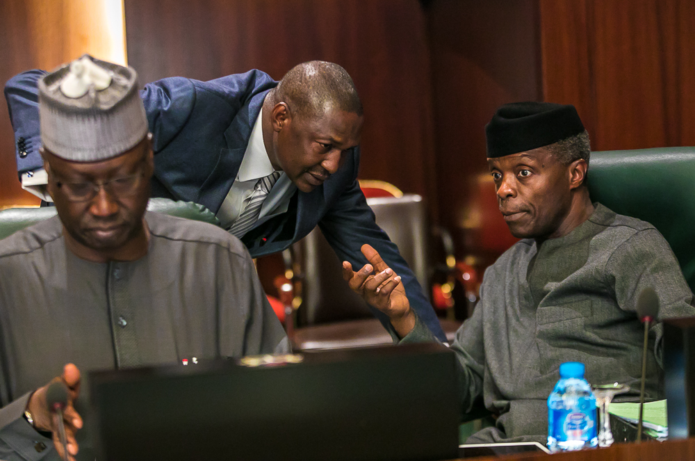 Photos: Highlights of today's FEC meeting through the lens of Presidency Photographers