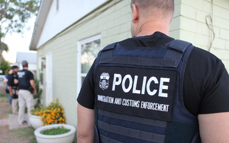 How U.S Immigration agents detained a 50-year American resident outside the home he owns, get set to deport him