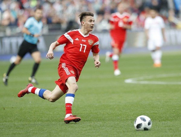 Russia beats Saudi Arabia 5-0 to open 2018 World Cup