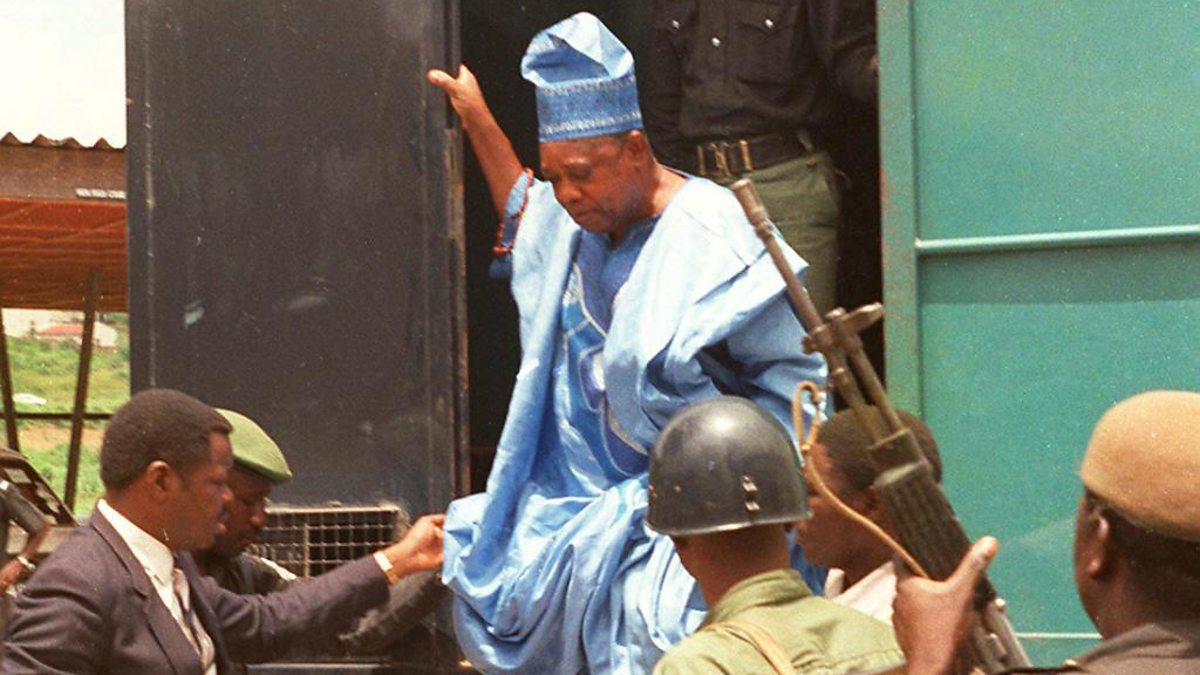 Image result for MKO abiola in jail