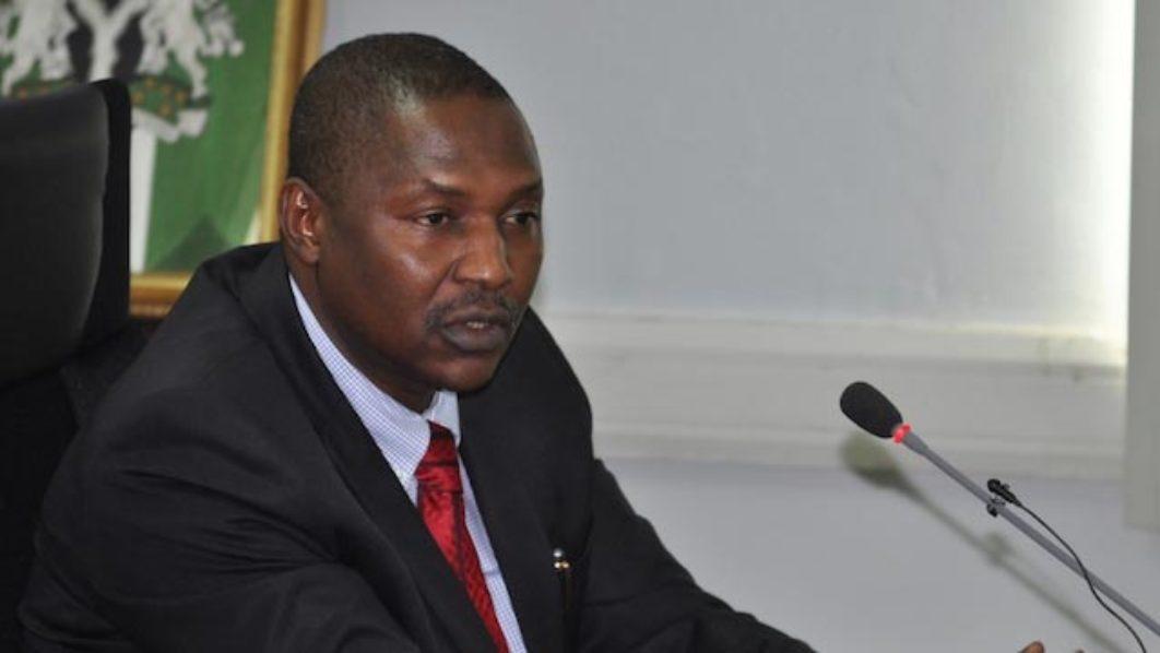 AGF Abubakar Malami and the wailers