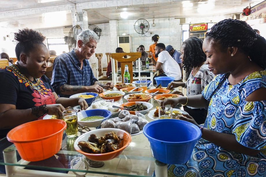 What Anthony Bourdain said about Lagos
