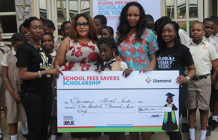 Diamond Bank rewards 30 youth account holders with Scholarships