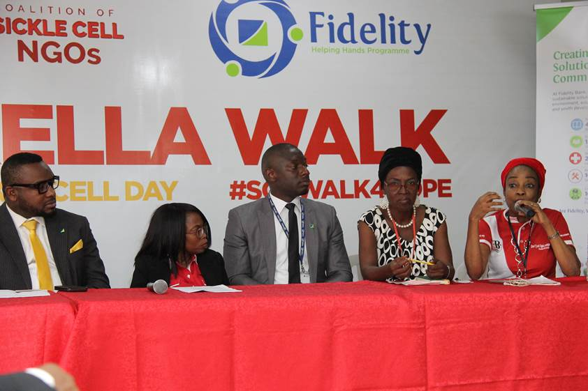Fidelity bank supports World Sickle Cell Day with crucial partnership with NGOs