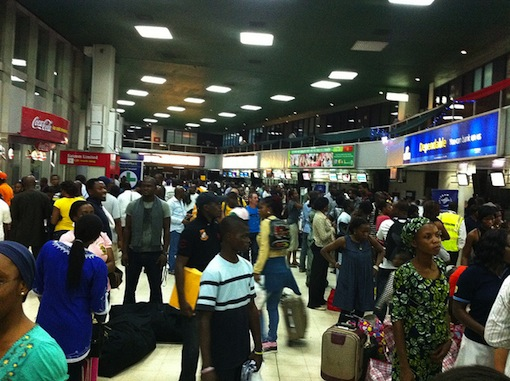 ISIS terror plot sparks heightened security at Nigeria airports as experts say 'Insider threats' from workers on the rise.