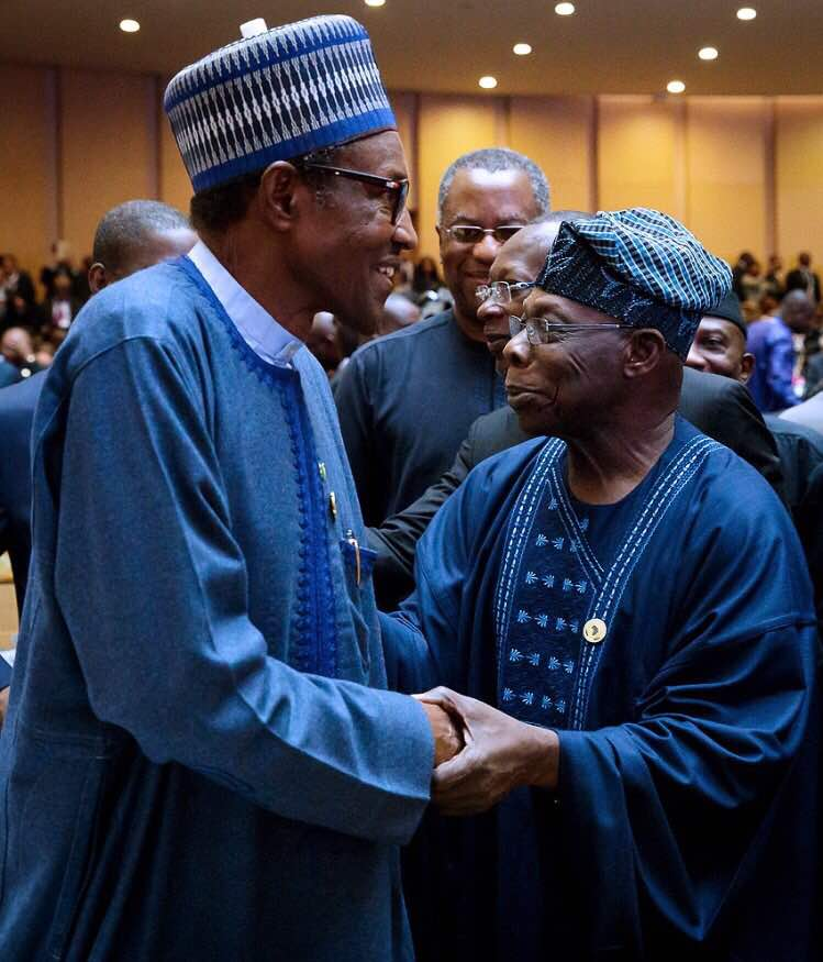 Obasanjo raises alarm over plot by Buhari to implicate, arrest him on bogus charges