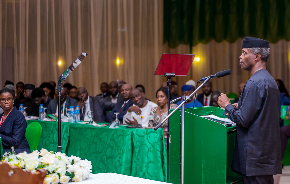 VP Osinbajo at the 8th Presidential Quarterly Business Forum