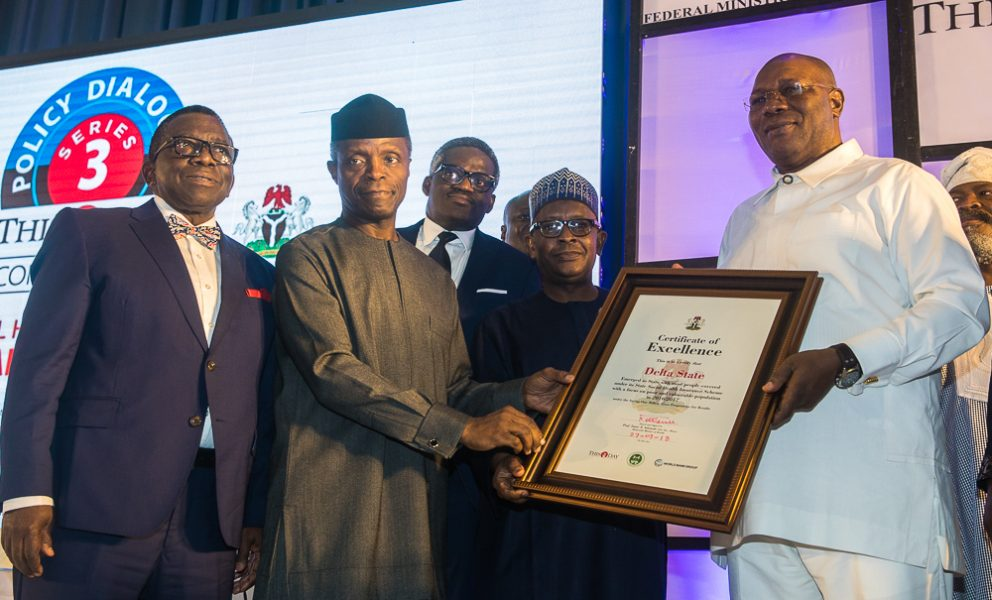 The Day in Pictures: VP Osinbajo at the 3rd THISDAY Health Policy Dialogue