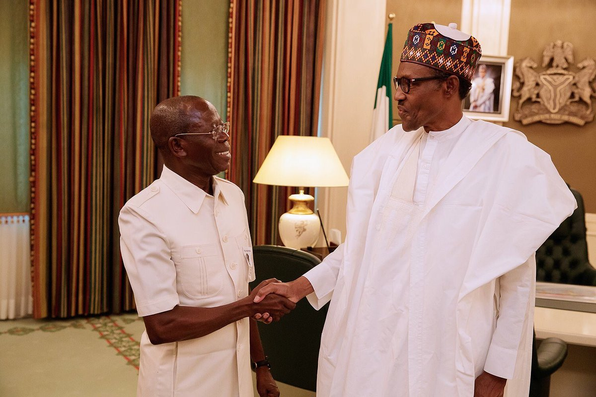 Through the back door, Obasanjo and gang of expired, rent-seeking politicians wants 3rd term, says Oshiomhole
