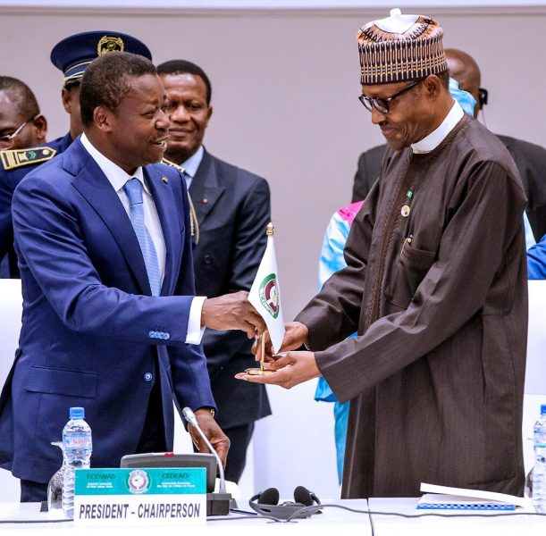 Buhari Reveals Priority as ECOWAS Chairman: Peace, Security and Good Governance