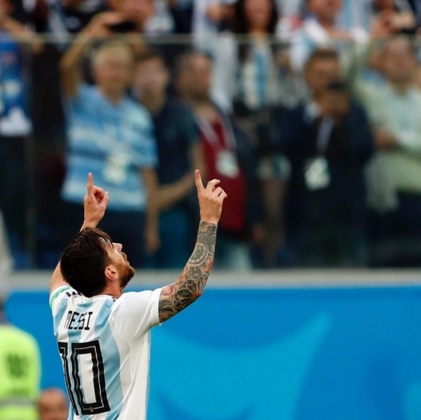 'I Knew God Was With Us,' Lionel Messi Says Against Nigeria