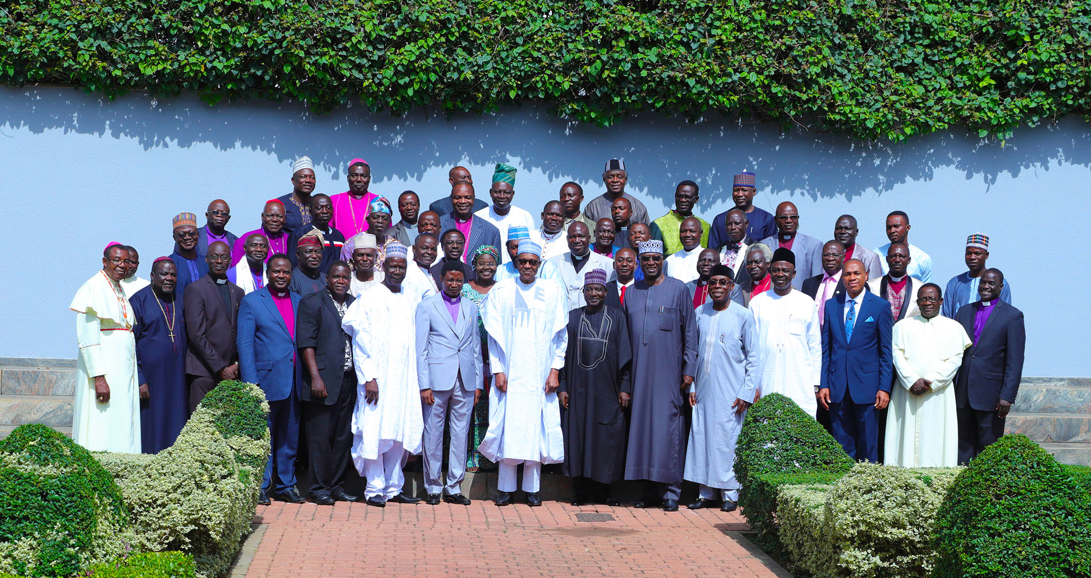 In Pictures: Buhari hosts Christian Association of Nigeria, leaders from 19 northern states