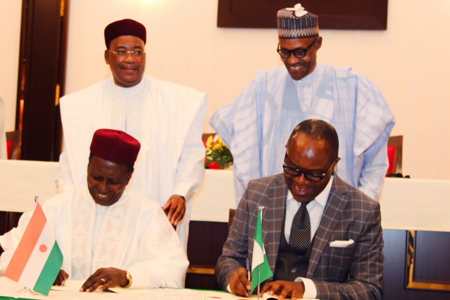 Nigeria, Niger Republic MoU targets 150,000bpd crude in new refinery