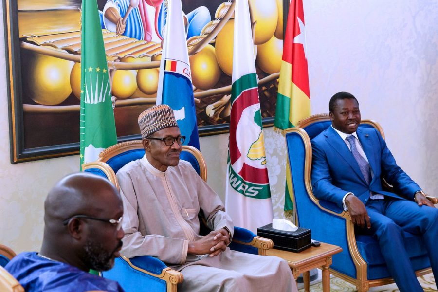 The Day in Pictures: Buhari, Weah and Gnassingbé at ECOWAS