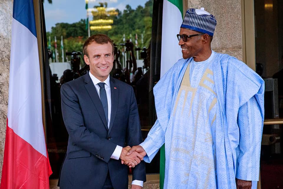 French President Macron reveals real reason for Africa Shrine visit