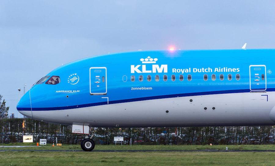 KLM says it will halt flights to Iran