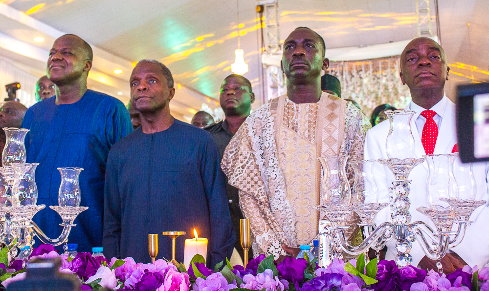 President Osinbajo attends Golden Jubilee Birthday Celebration of Dr. (Pst) Paul Enenche.
