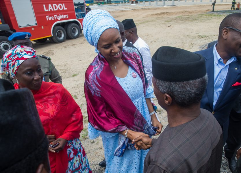 In Pictures: Osinbajo visits Lagos Deep Offshore Logistics Base – LADOL Free Zone