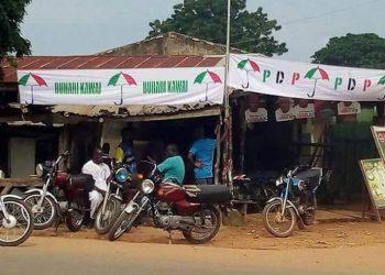 Buhari Kawai on PDP's banner