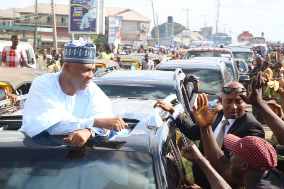APC hates Kwara, every good thing goes to Katsina or Lagos – Saraki