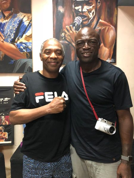 Femi Kuti and Seal
