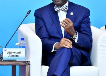 "esident of the African Development Bank, speaks at a panel with the theme ""Enhancing Infrastructure Cooperation for Sustainable Development"" during the High-level Dialogue Between Chinese and African Leaders and Business Representatives, also the Sixth Conference of Chinese and African Entrepreneurs, in Beijing, capital of China, Sept. 4, 2018."