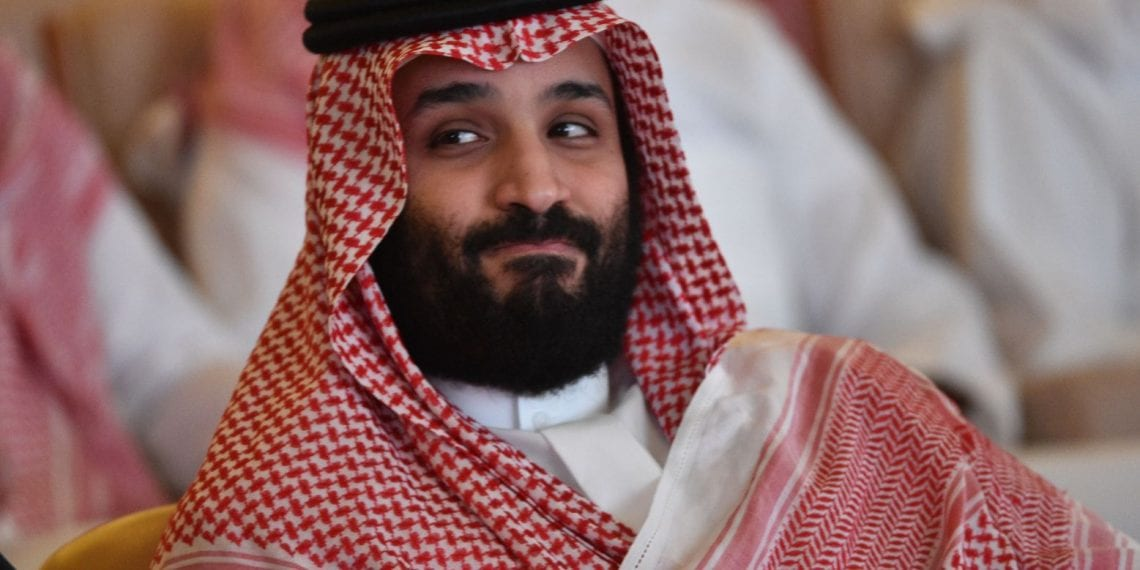 Saudi Crown Prince Mohammed bin Salman attends the Future Investment Initiative (FII) conference in the Saudi capital Riyadh on October 23, 2018. - Saudi Arabia is hosting the key investment summit overshadowed by the killing of critic Jamal Khashoggi that has prompted a wave of policymakers and corporate giants to withdraw. (Photo by FAYEZ NURELDINE / AFP)        (Photo credit should read FAYEZ NURELDINE/AFP/Getty Images)