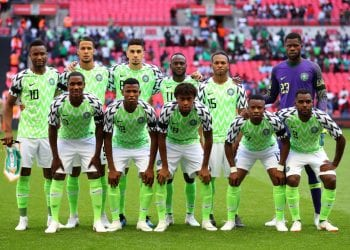 during the International Friendly match between England and Nigeria at Wembley Stadium on June 2, 2018 in London, England.