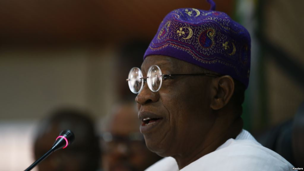 Image result for According to the minister of information and culture, Lai Mohammed, the Federal Government will implement reforms in the media industry and sanction any defaulter.  He added that the reform will be extended to the social media space which he described as 'totally out of control'.