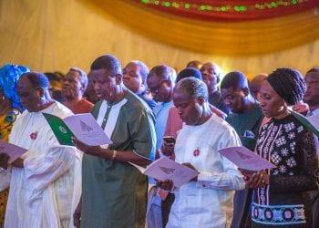 Vp Osinbajo attends State House Christmas Praise