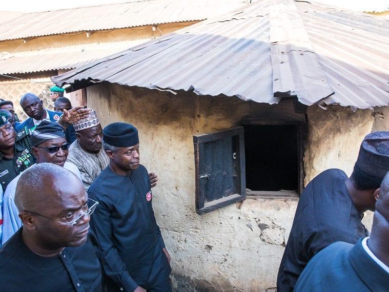 VP Osinbajo on the campaign trail