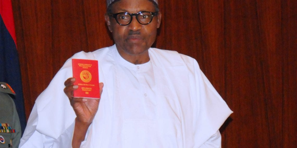 Buhari launches new E passport