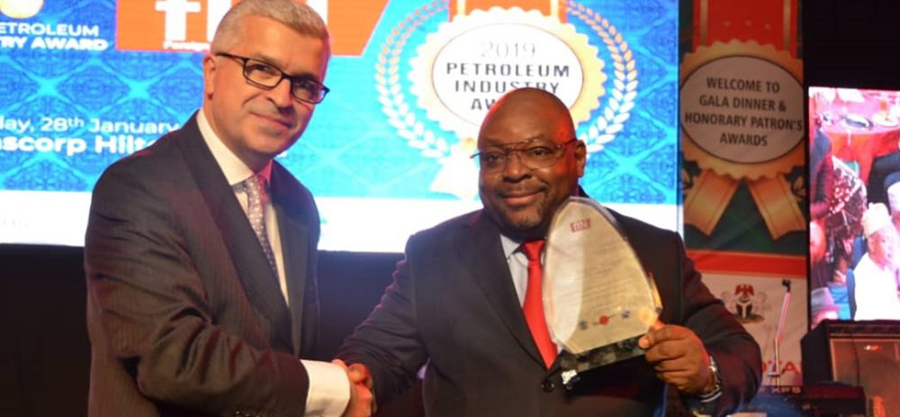 Inuwa Waya, Managing Director NNPC Trading Bags FIN Oil & Gas Outstanding Personality Award