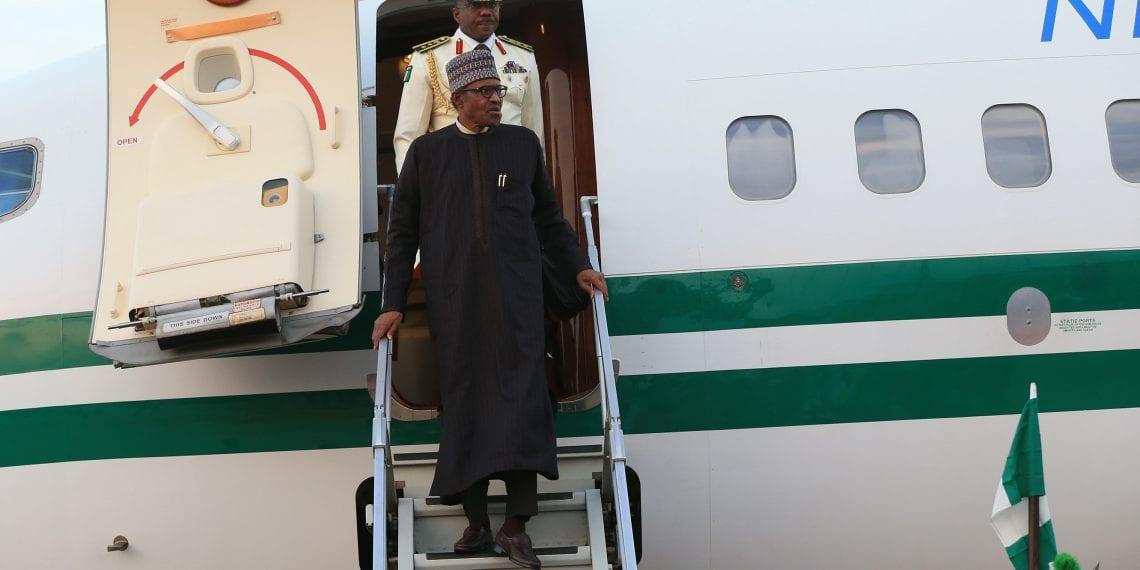 PRESIDENT BUHARI RETURNED 1. President Muhammadu Buhari returns from the UK after 10 days vacation. PHOTO; SUNDAY AGHAEZE. MAY 5 2019