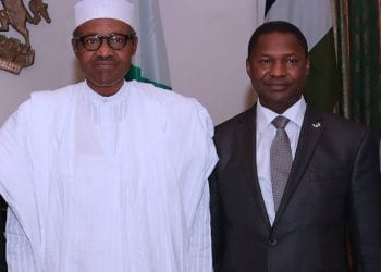 President Buhari and Malami