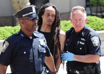 Foy arrested by Police after shooting Mr. Oruma, a Nigerian 9 times.