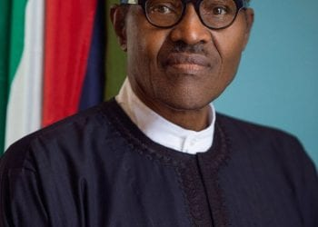 Official portraits of President Muhammadu Buhari
