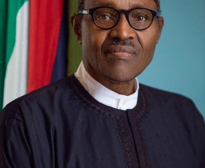 Official portraits of President Muhammadu Buhari