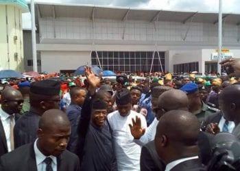 VP Osinbajo in Enugu