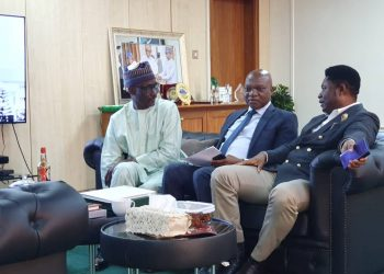 GMD NNPC and officials of Shell and Belema