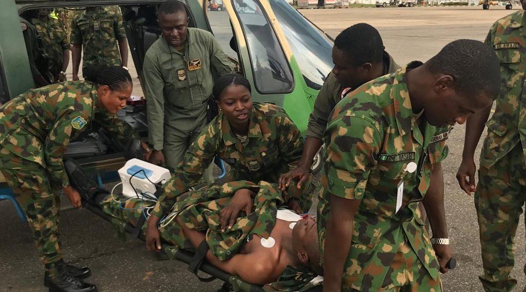 US Military, US Air Force, Nigeria Airforce, Medical Evacuation, Nigeria
