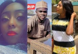 Pictures of three students of Greenfield University wasted by kidnappers