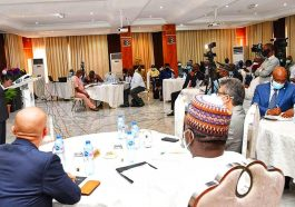 opening of the maiden Technology and Tax Event organized by the Nigerian Governors Forum (NGF) supported by the World Bank and the International Centre for Tax and Development in Abuja.