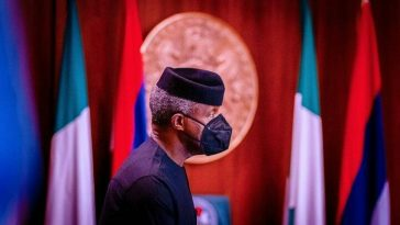 Vice President Yemi Osinbajo presides over weekly Federal Executive Council Meeting at the State House, Abuja