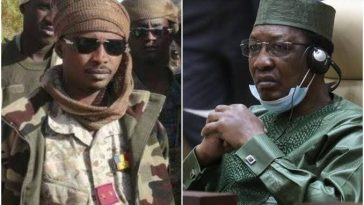BREAKING: 37-year-old son of Chadian President, killed in battlefield takes over as Interim Head of State