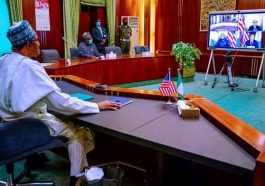 Insecurity: Pres. Buhari urges relocation of U.S. Africa Command from Stuttgart, Germany, to Africa