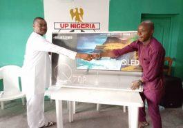FIFA World Cup qualifiers: Australia-based Nigerian donates 55'' TV set to Nigeria Football Supporters Club