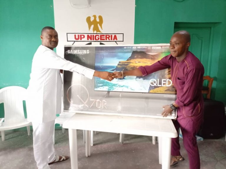 FIFA World Cup qualifiers: Australia-based Nigerian donates 55'' TV set to Nigeria Football Supporters Club
